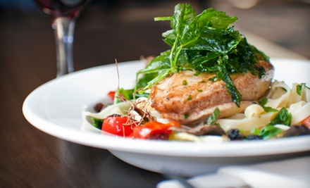$36 for a Dinner with Salad and Pasta for Two at Chama Grill (Up to $66 Value)