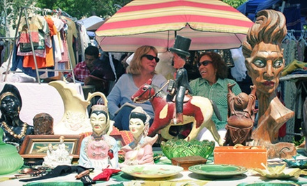 $22 for an Annual Flea Market Shopping Pass for Two ($44 Value)