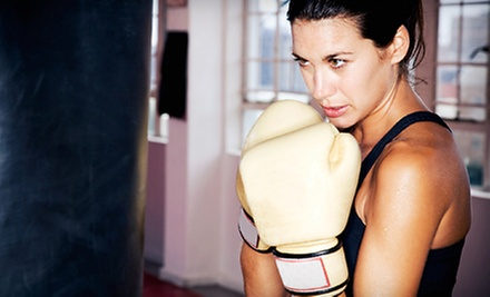 One Month of Unlimited Boxing Classes with Optional Boxing Gloves at The Ring Boxing Club (78% Off)