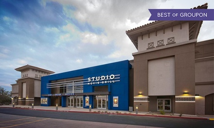 One, Two, or Four Movie Tickets at Studio Movie Grill (Up to 47% Off)