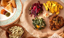 Ethiopian Food at Manna Bistro & Bakery (Half Off). Two Options Available.