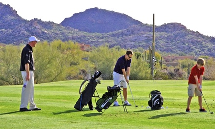 3, 6, or 10 One-Hour Group Golf Lessons at Troon North Golf Club (Up to 54% Off)