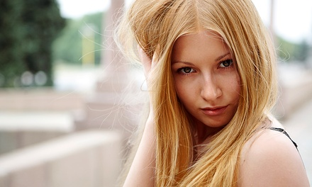 Cut and Color or Highlights at The Salon at Style House (Up to 51% Off)