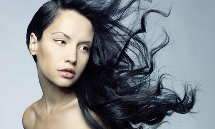 Haircut with Moisture Treatment or Partial or Full Highlights at Blown Salon (Up to 57% Off)