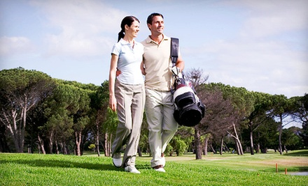 $20 for Nine Holes of Golf for Two with Range Balls and Sodas at Family Golf &amp; Learning Center (Up to $43 Value)