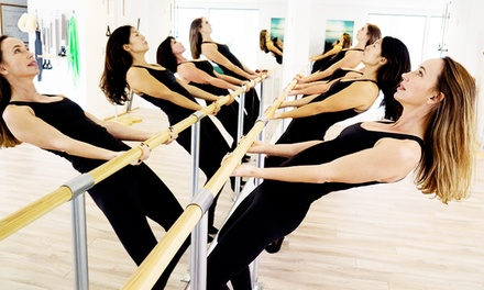 10 Booty Barre Classes or One Month of Unlimited Classes at Center of Movement and Balance (Up to 67% Off)