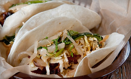 California Cuisine at Rock 'N Tacos (Half Off). Two Options Available.
