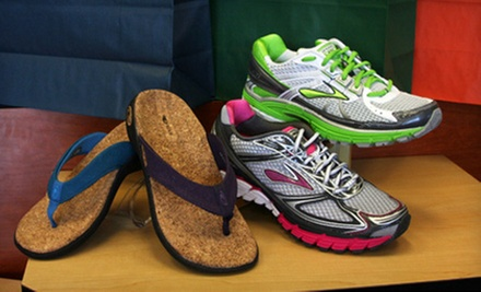 $25 for $50 Worth of Shoes, Socks, and Insoles at Sole Solutions