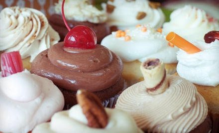 $6 for Six Cupcakes at For Goodness Cakes! ($12 Value)