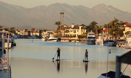 90-Minute Stand-Up Paddleboarding Lesson for Two or Four at OEX Sunset Beach (Up to 56% Off)