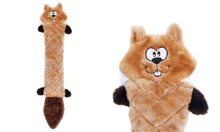 Jigglerz Chipmunk Dog Toy