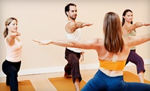 $45 for 10 Yoga Classes at Breathing Room Yoga & Movement Studio in South Portland (Up to $100 Value)
