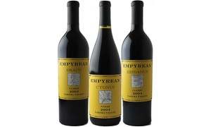 $59 For Three Bottles Of Empyrean Wines From Splash Wines ($150 Value)