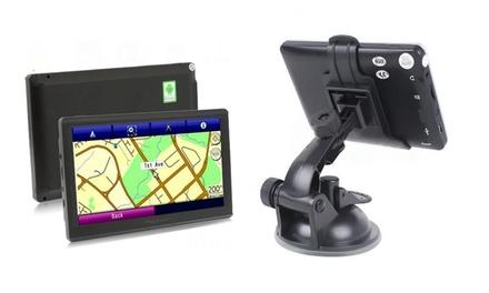 Navegador GPS Android com ecrã de 5' ou 7' desde 59,90€