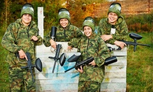 Day of Paintball with Equipment for Two, Four, or Eight at The Paintball Asylum (Up to 60% Off)