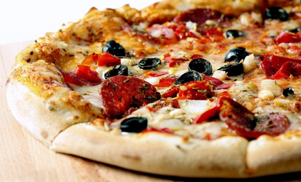 Pizza Meal for Two, Four, or Six at Ye Olde Pizza Shoppe (Up to 52% Off)