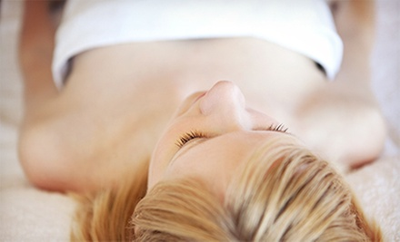 60-Minute Deep-Tissue or Relaxation Massage with Optional Facial at Tru Beaute Med Spa (Up to 52% Off)