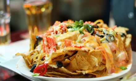 $12 for a 36-oz. Pitcher of Margaritas and Nachos or Mexican Pizza at Park Street Cantina ($22.99 Value)
