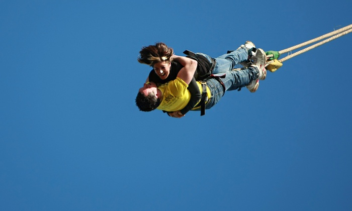 UK Bungee Club - Multiple Locations: UK Bungee: Lovers' Leap Tandem Jump at Choice of Locations from £99 (Up to 18% Off)