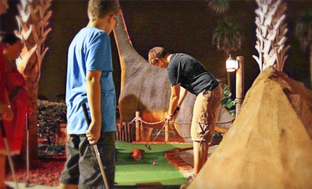 Round of Mini Golf for Two or Four at Volcano Island Miniature Golf (Up to 60% Off)