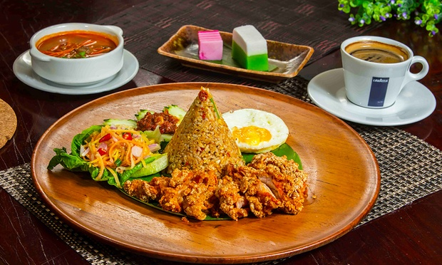 3 course western and asian fusion meal with drinks or rm60 for Asian and western cuisine