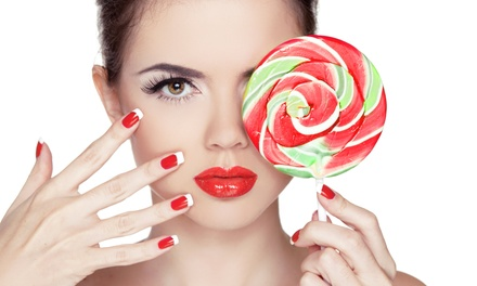 Manicures and Pedicures from Becky Moore at Hair Fixers de Salon (Up to 58% Off). Four Options Available.