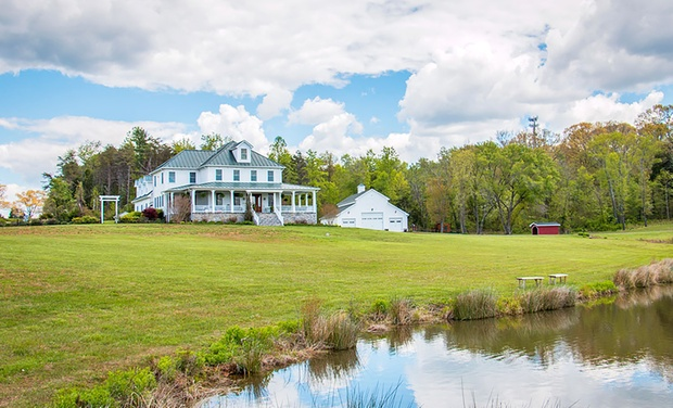 TripAlertz wants you to check out 1-Night Stay for Two at Walden Hall in Reva, VA. Combine Up to 4 Nights. Secluded B&B in Rural Virginia - Secluded B&B in Rural Virginia