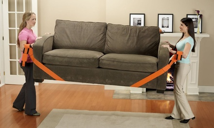 2-Pack of Easy Move Furniture-Lifting Arm Straps