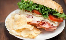 Two or Four Large Sandwiches with Drinks at Full O' Bull Sandwich Shop (Up to 54% Off)