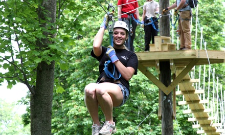 Zipline Tour for One or Two at Harpers Ferry Adventure Center (Up to 31% Off)