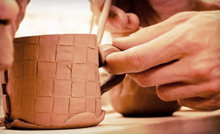 One, Three, or Five Pottery Classes with Glazing Sessions at Fire &amp; Mud Studios (Up to 68% Off)