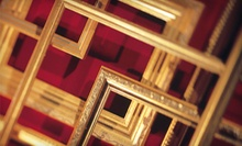 $49 for $100 Worth of Custom Framing at Quality Frames & Art