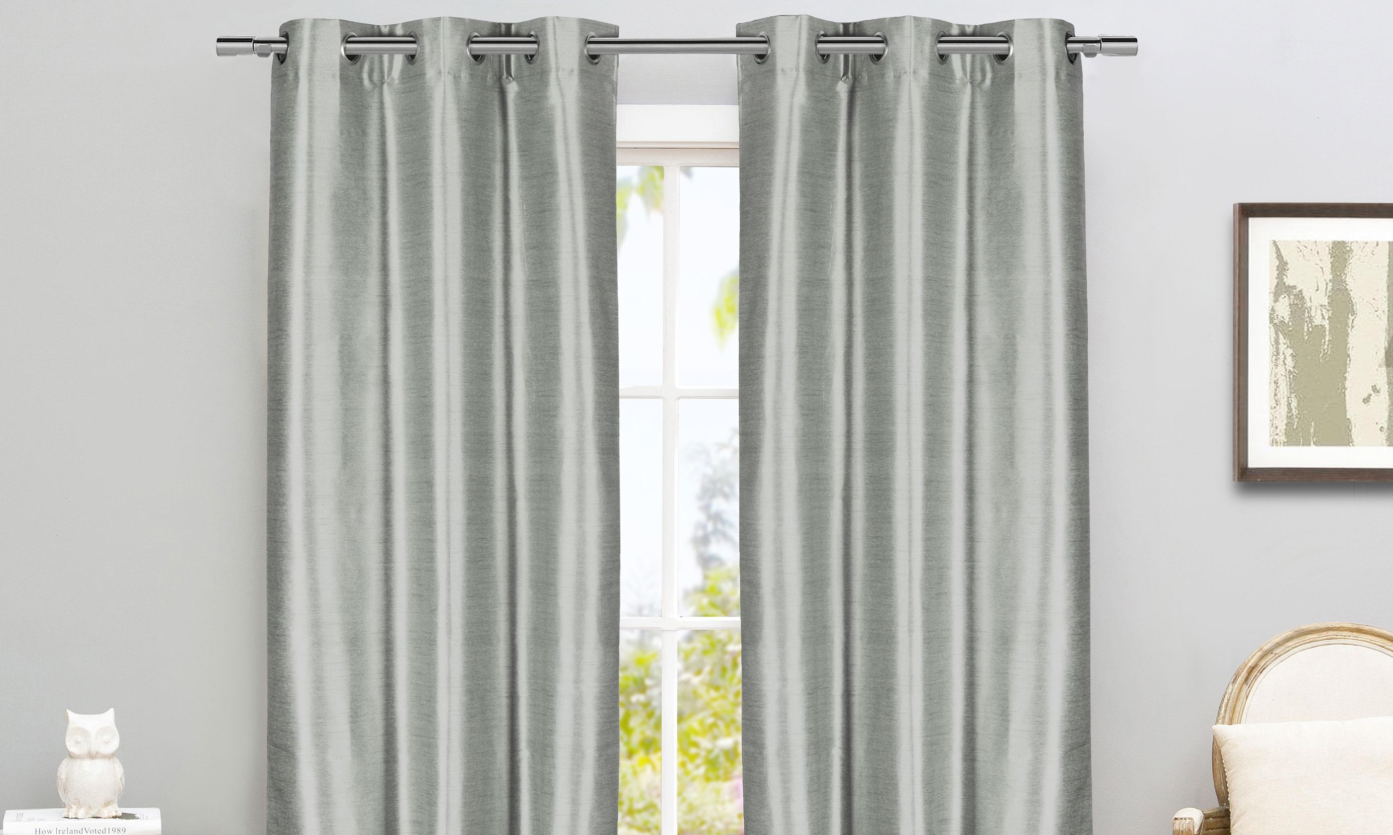 room darkening thermal insulated blackout grommet window cur