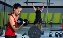 Four Weeks of Intro CrossFit Classes for One or Two at CrossFit Rally by Sweat (Up to 84% Off)