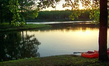 Camping with Canoe or Raft Rental and Optional Amenities at Meramec Valley Campground & RV Park (Up to 57% Off)