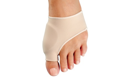 2-Pack of Bunion Protector/Detox Sleeves with EuroNatural Gel