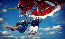 Parasailing Tour for Two or Three, or One-Hour Rental of Two Jet Skis at Paradise Watersports (Up to 56% Off)