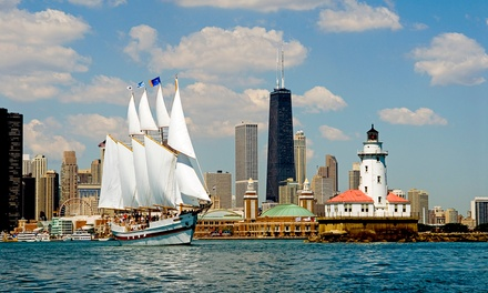 75-Minute Sailing Tour for One Adult with Optional Beverage on Tall Ship Windy (43% Off)