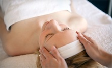60-Minute Massage, Custom Organic Facial, or Both at Pure SKN (Up to 54% Off)