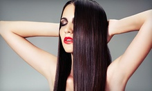 One, Two, or Three Keratin Hair-Smoothing Treatments at S.A.F.E. Salon (Up to 60% Off)
