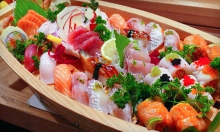 $25 for $40 Worth of Japanese Food and Sushi for Dinner at Midori Sushi