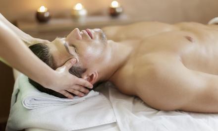 60-Minute Swedish Massage and 30-Minute Body Scrub from LUNA MAYA SPA  (50% Off)