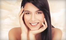 Haircut and Partial Highlights or Keratin Smoothing Treatment from Andrea Gibson (Up to 57% Off)