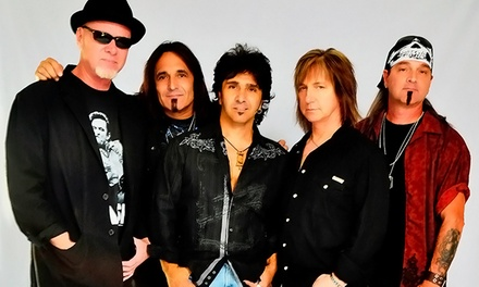 Great White and Slaughter at Hard Rock Casino Vancouver on Saturday, September 6, at 8 p.m. (Up to 50% Off)