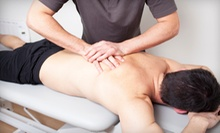One or Two Deep-Tissue Massages with One Chiropractic Consultation at Taschler Spine & Rehab (Up to 69% Off)