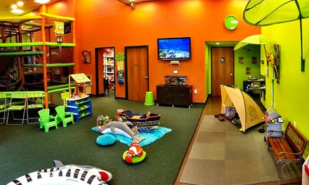 Eight-Week Kids' Play and Learn Session for One or Two at Wild at Play (Up to 58% Off)