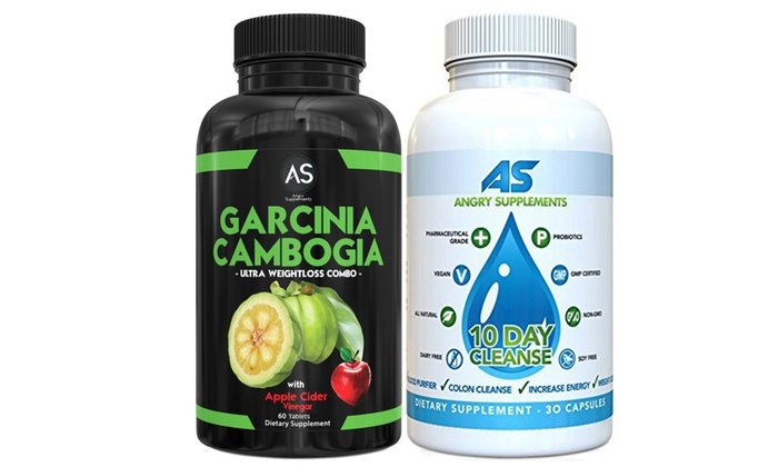 Garcinia Cambogia With Apple Cider Vinegar And 10 Day Cleanse Angry Supplements