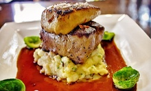 $20 for $40 Worth of European Dinner and Drinks at ViaVita Caf &amp; Wine Bar