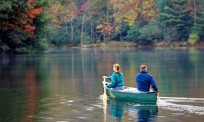 Go Country - Kinlochard: Canoeing and Camping For Two (£55) or Four (£99) at Go Country