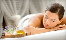 $89 for One Massage with Holiday Aromatherapy, Facial, Tea, and 10% Off Lab Products at Kalologie (Up to $220 Value)